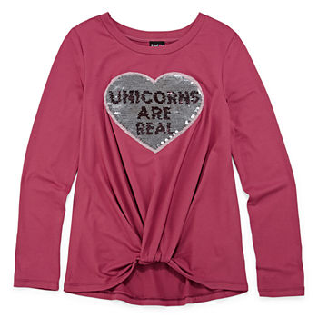 3b5d0f1472c7 Long Sleeve Shirts   Tees for Kids - JCPenney