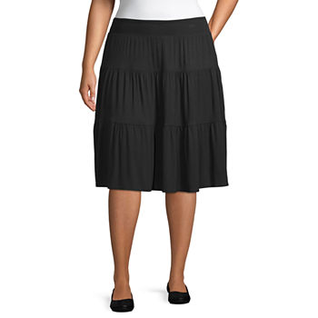 6f081d7c970af Plus Size Skirts for Women - JCPenney