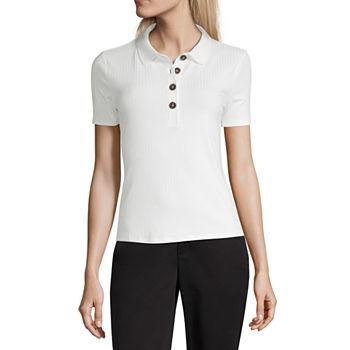 bfa5189336a19 Women Polo Shirts Tops for Women - JCPenney