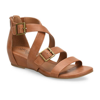 d3fa613478d Eurosoft Womens Renae Wedge Sandals. Add To Cart. Black. Anthracite.  Cognac.  39.99