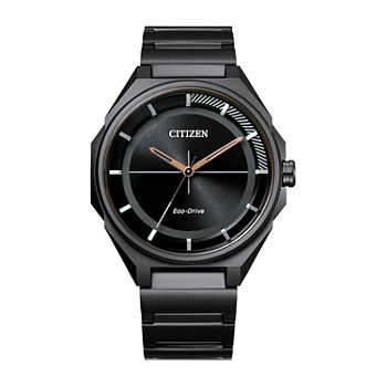 Drive from Citizen Mens Black Stainless Steel Bracelet Watch - Bj6535-51e