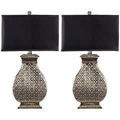 Safavieh Malaga Silver Table Lamp