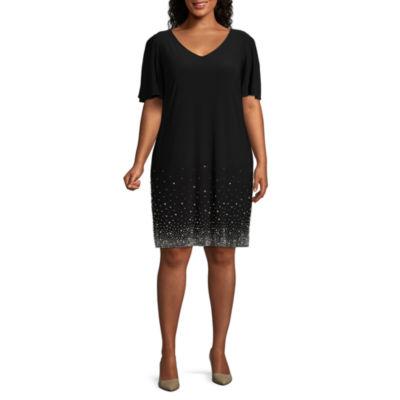 JCPenney Plus Size Black Dresses