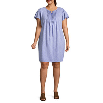 St Johns Bay Plus Size Dresses For Women Jcpenney
