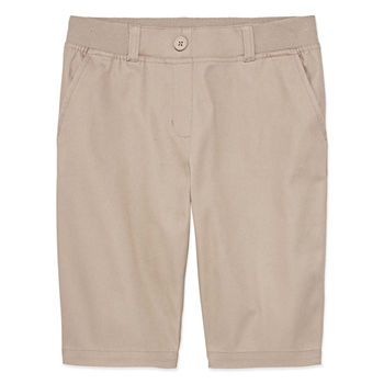 IZOD Little & Big Girls Stretch Bermuda Short