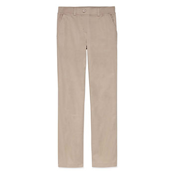 IZOD Little & Big Girls Bootcut Pull-On Pants