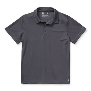Xersion Little & Big Boys Short Sleeve Polo Shirt