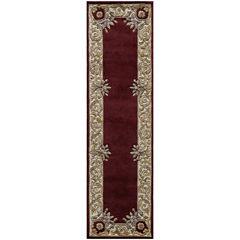 Momeni® Open Field Hand-Carved Wool Runner Rug