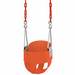 High Back Full Bucket Toddler and Baby Swing