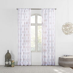 Marseilles Rod-Pocket Curtain Panel