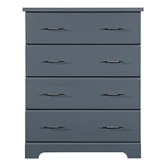 Storkcraft Brookside 4-Drawer Nursery Dresser - Gray