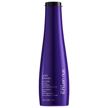 shu uemura Yubi Blonde Anti-Brass Purple Shampoo for Blonde Hair