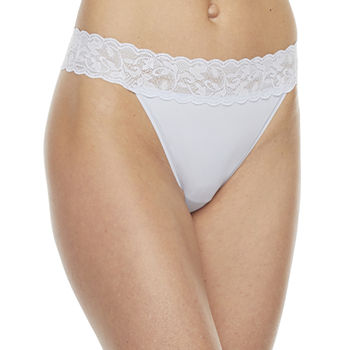 Ambrielle 1 Pair Microfiber Thong Panty