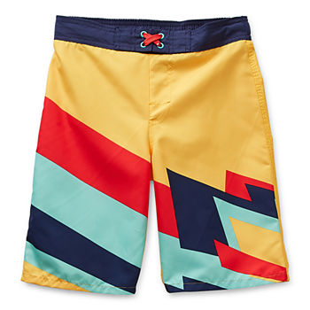 Arizona Little & Big Boys Geometric Board Shorts