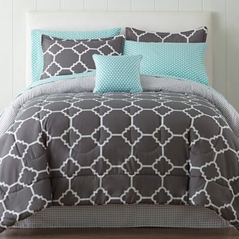 c p set queen quilt prod enterprises houndstooth country comforter bedding bu french f comfort