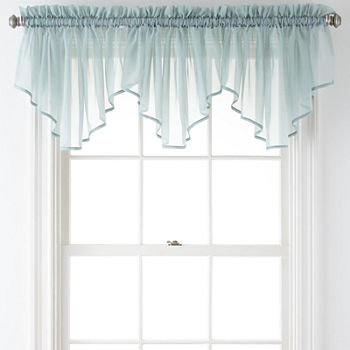 tab color thermal insulated valances curtains valance weathermate solid blue top navy