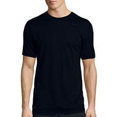 Nike® Dri-FIT Touch Short-Sleeve Tri-Stripe Tee