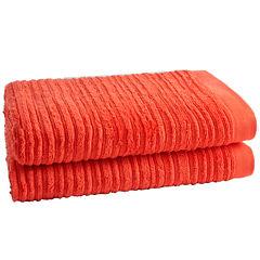 Loft By Loftex Cascading 2-Pc. Bath Towel Set