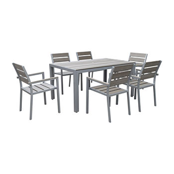 Corliving 7-pc. Patio Dining Set