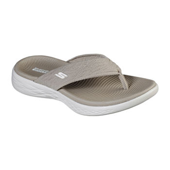 Skechers On The Go 600 Sunny Womens Footbed Sandals