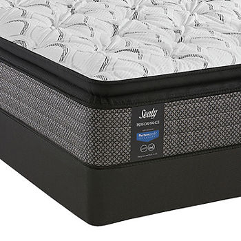 Sealy® Posturepedic Evanston Plush Pillow Top Mattress + Box Spring
