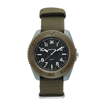 Armitron Pro Sport Mens Green Strap Watch-20/5417dgn