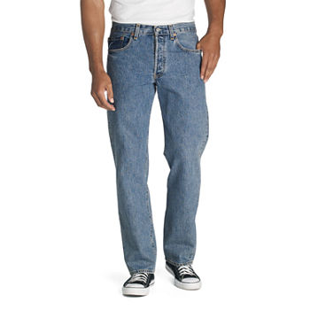Levi's® Mens 501 Stretch Straight Leg Jean