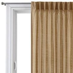 Royal Velvet® Supreme Pinch-Pleat/Back-Tab Thermal Patio Door Panel