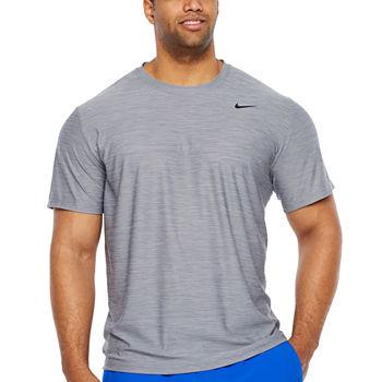 5b03c181 Nike Mens Crew Neck Short Sleeve Moisture Wicking T-Shirt-Big and Tall