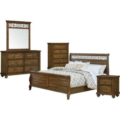 Impressive Bed Frame With Headboard Style