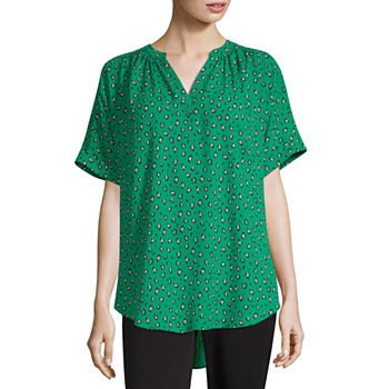 9e4a504f5c4866 Worthington Green Tops for Women - JCPenney