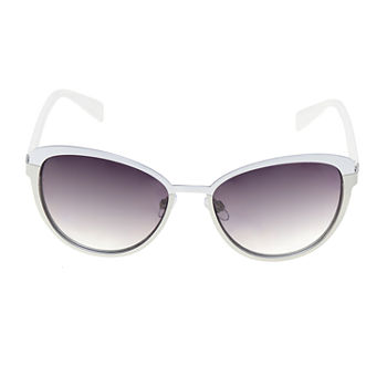 a.n.a Metal Cat With Plastic Temples And Enamel Womens Sunglasses