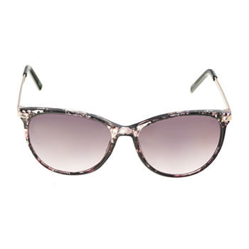 a.n.a Plastic Round Womens Sunglasses
