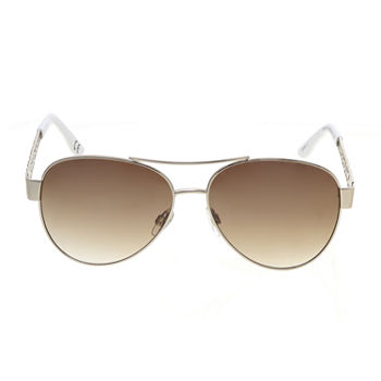a.n.a Metal Aviator With Enamel Womens Sunglasses