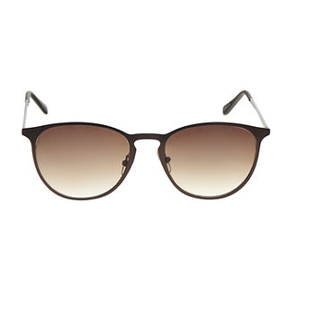 a.n.a Metal Round With Keyhole Womens Sunglasses