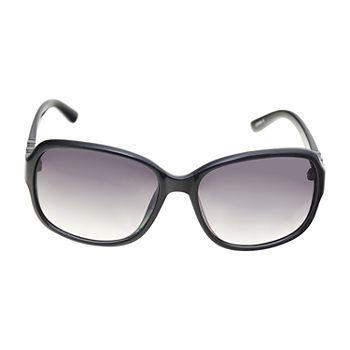 a.n.a Medium Plastic Rectangle With Metal Stones Womens Sunglasses