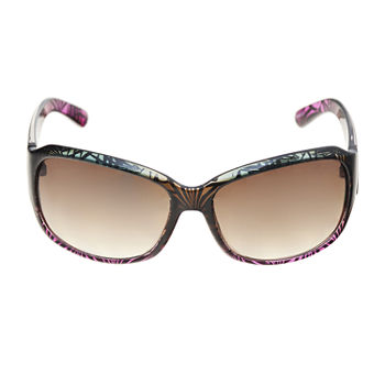 a.n.a Plastic Large Rectangle Womens Sunglasses