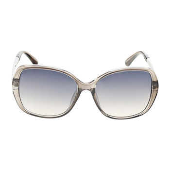 a.n.a Xtal Rectangle With Metal Temple Womens Sunglasses