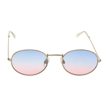 Arizona Small Metal Oval With Sunset Lens Womens Sunglasses