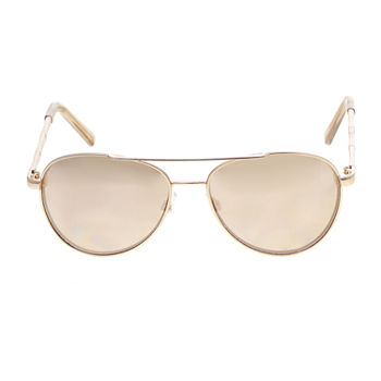Mixit Metal Aviator Womens Sunglasses
