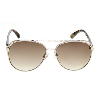 Mixit Metal Aviators With Venting Womens Sunglasses