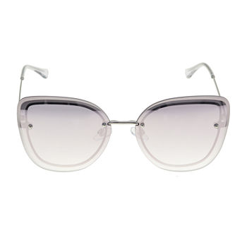 Worthington Metal Medium Flat Butterfly Womens Sunglasses