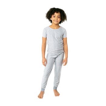 Jaclyn True Stripe Family Sleep Little Unisex 2-pc. Pajama Set