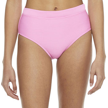 Decree Womens High Waist Bikini Swimsuit Bottom Juniors