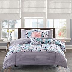 Intelligent Design Tiffany Floral Comforter Set