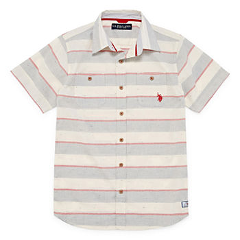 8af8f318 Embroidered Button-front Shirts Shop All Boys for Kids - JCPenney
