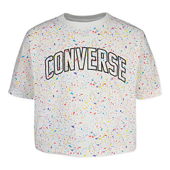 d8cccdcc6 Converse Girls Crew Neck Short Sleeve Graphic T-Shirt. Add To Cart. White.  BUY 1 GET 1 40% OFF