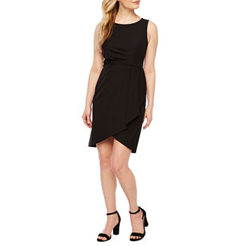 Worthington-Petite Sleeveless Sheath Dress