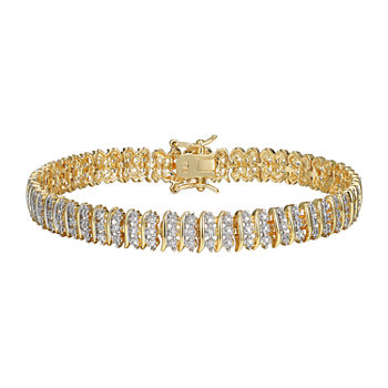 Sparkle Allure Diamond Accent 7.25 Inch Round Tennis Bracelet