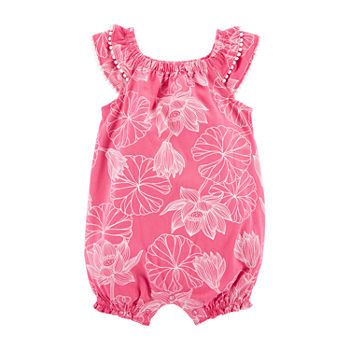 Carter's Baby Girls Sleeveless Romper